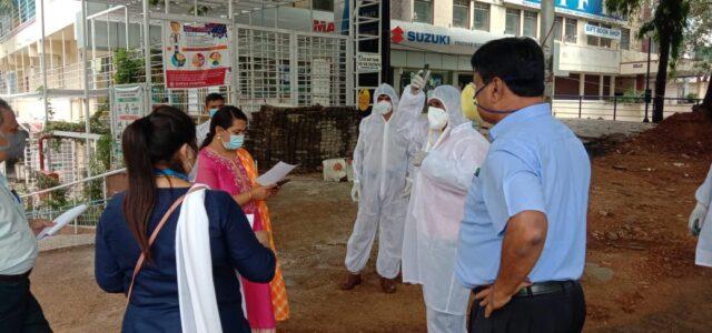 Covid19 containmnet zone Bengaluru