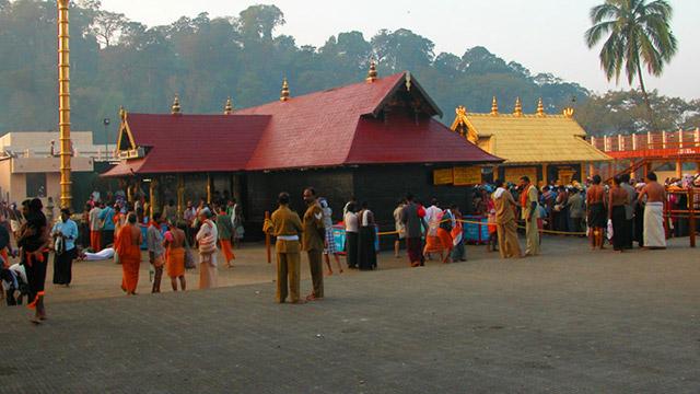 Shrine of Lord Ayyappa at Sabarimala