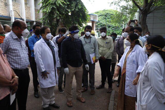 Medical Education Minister Dr K Sudhakar