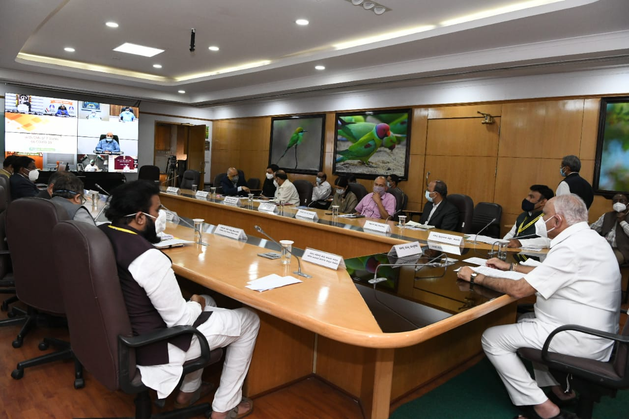 Focus on 9 worst-hit districts, PM tells BSY CM says Karnataka aiming at 31,000 oxygen beds for Covid cases