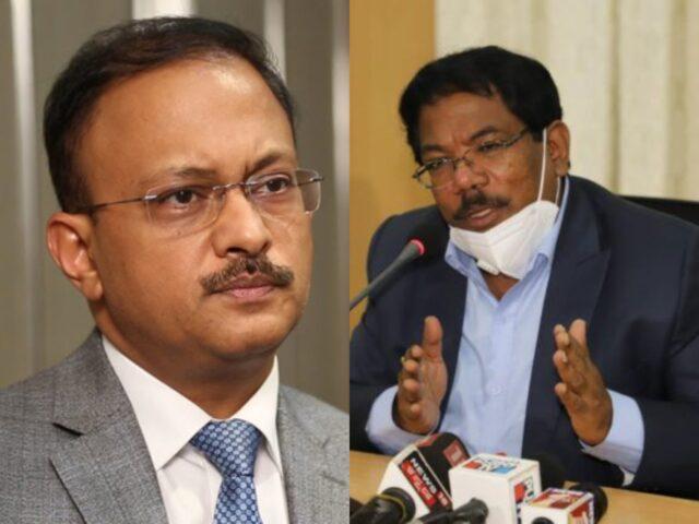 IAS Gaurav Gupta and IAS N Manjunatha Prasad