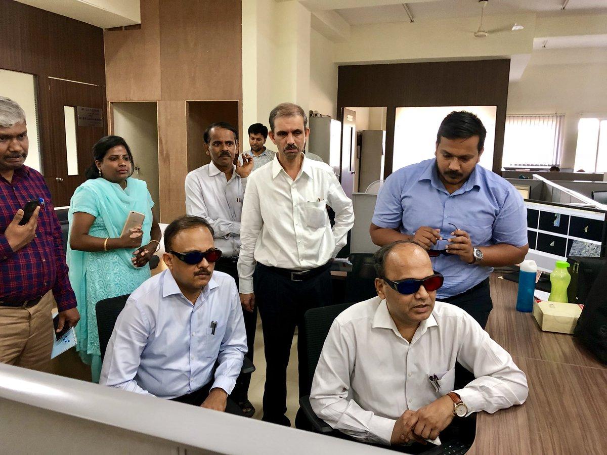 IAS Gaurav Gupta and IAS TM Vijay Bhaskar