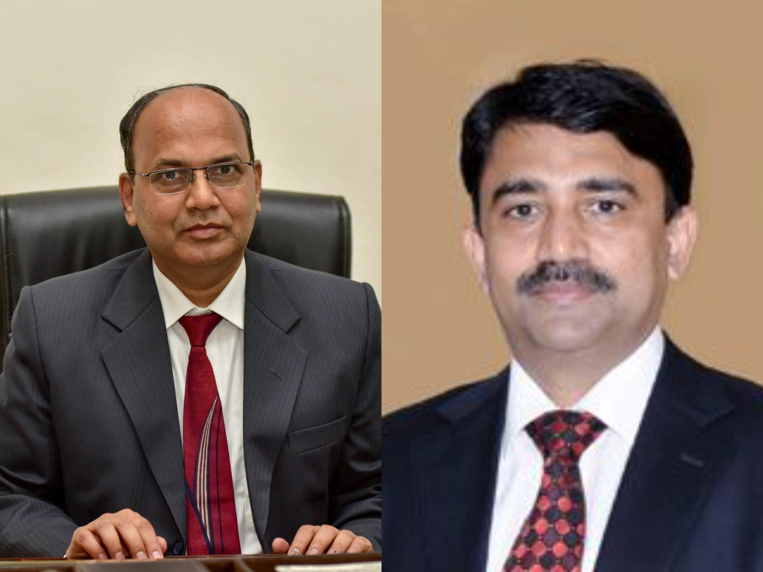 IAS VIjay Bhaskar and IAS G Kumar Naik