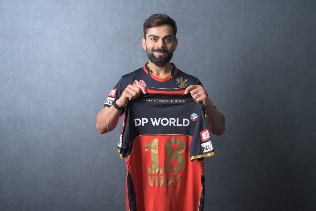 RCB to wear jerseys honouring Covid heroes They have batted day and night to support those in need: Virat