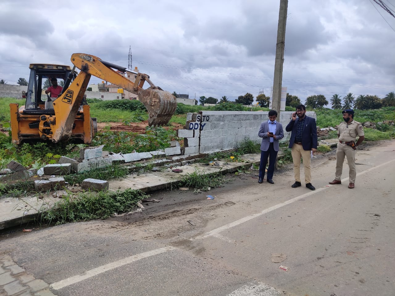 Officials recover encroached government worth Rs 100 crore Prabhakar Reddy