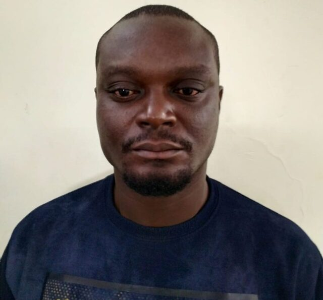 CCB arrests another African in drug case He was allegedly using 3 mobiles in different names to service parties