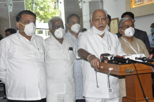 Will abide by BJP high command's directions on cabinet expansion: Yediyurappa