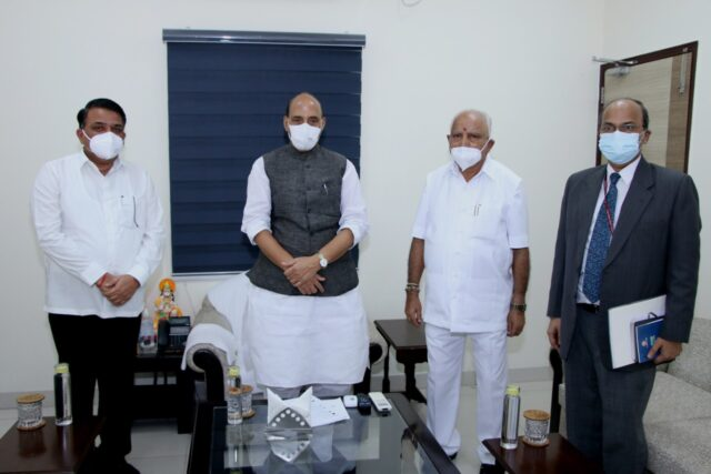 CM seeks Central nod for DRDO lab in Shivamogga Land for defence lab will be provided by state: Yediyurappa