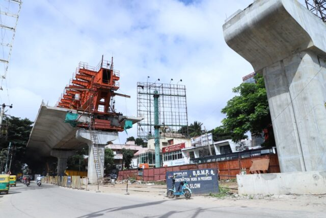Four years on, Ejipura-Sony World Junction Elevated Corridor still a work in progress