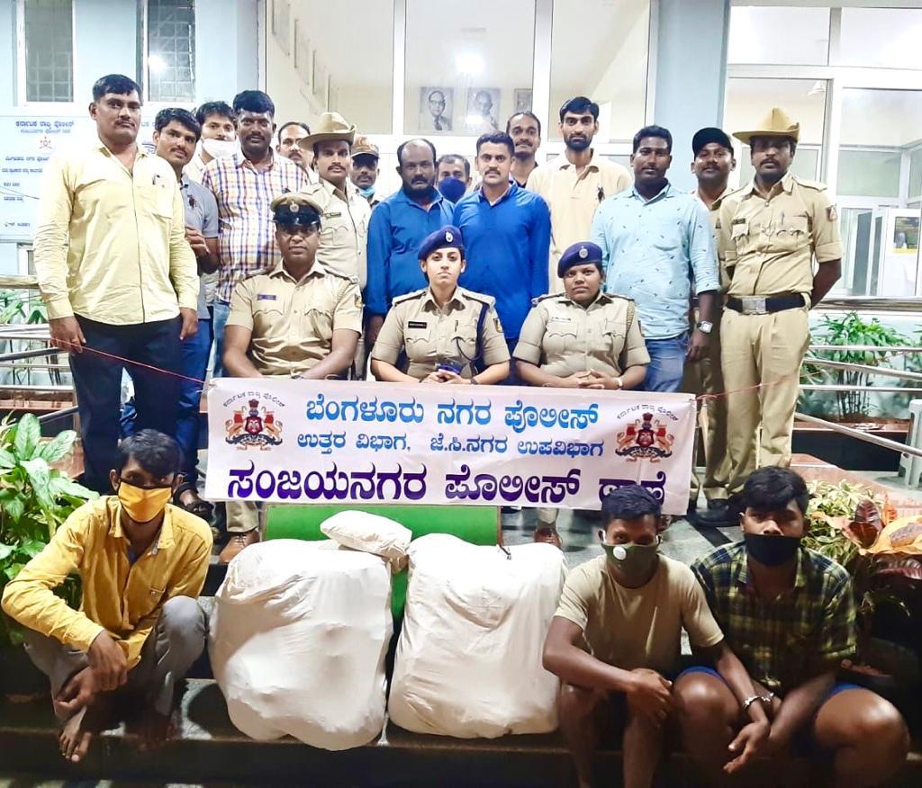 30 kg ganja seized, 3 arrested in Bengaluru