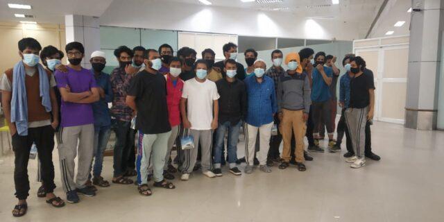 32 Kannadigas stranded in Saudi return safely