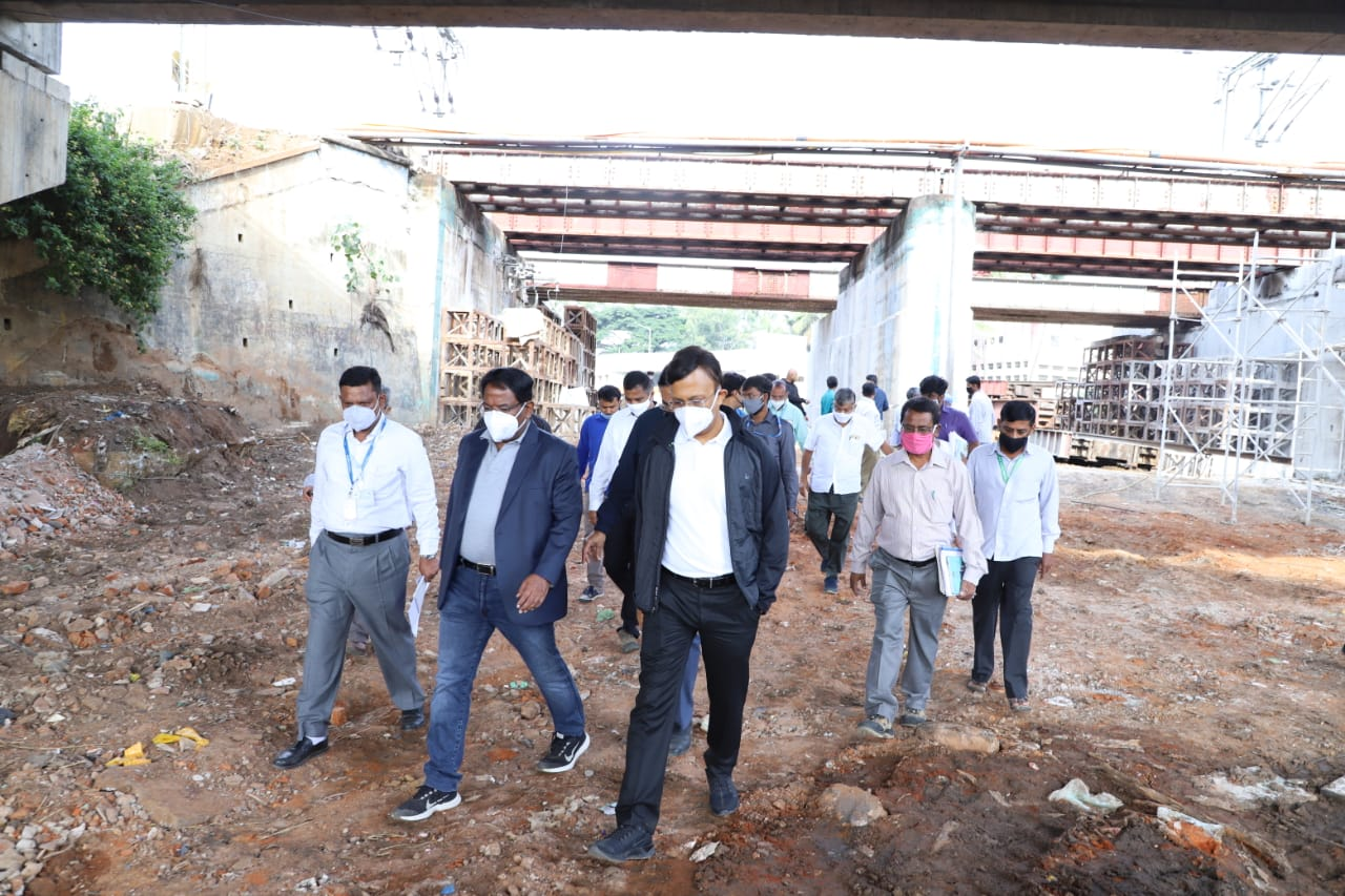 Underpass work holds up Okalipuram corridor completion Work started in 2015 and was scheduled for completion in 18 months