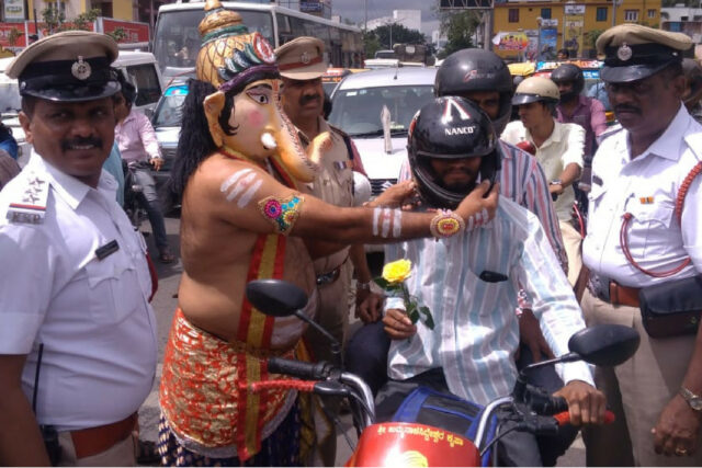 Driving licence of motorists not wearing helmets to be suspended for three months in Karntaka Wearing helmets is must for all two-wheeler users above the age of four years