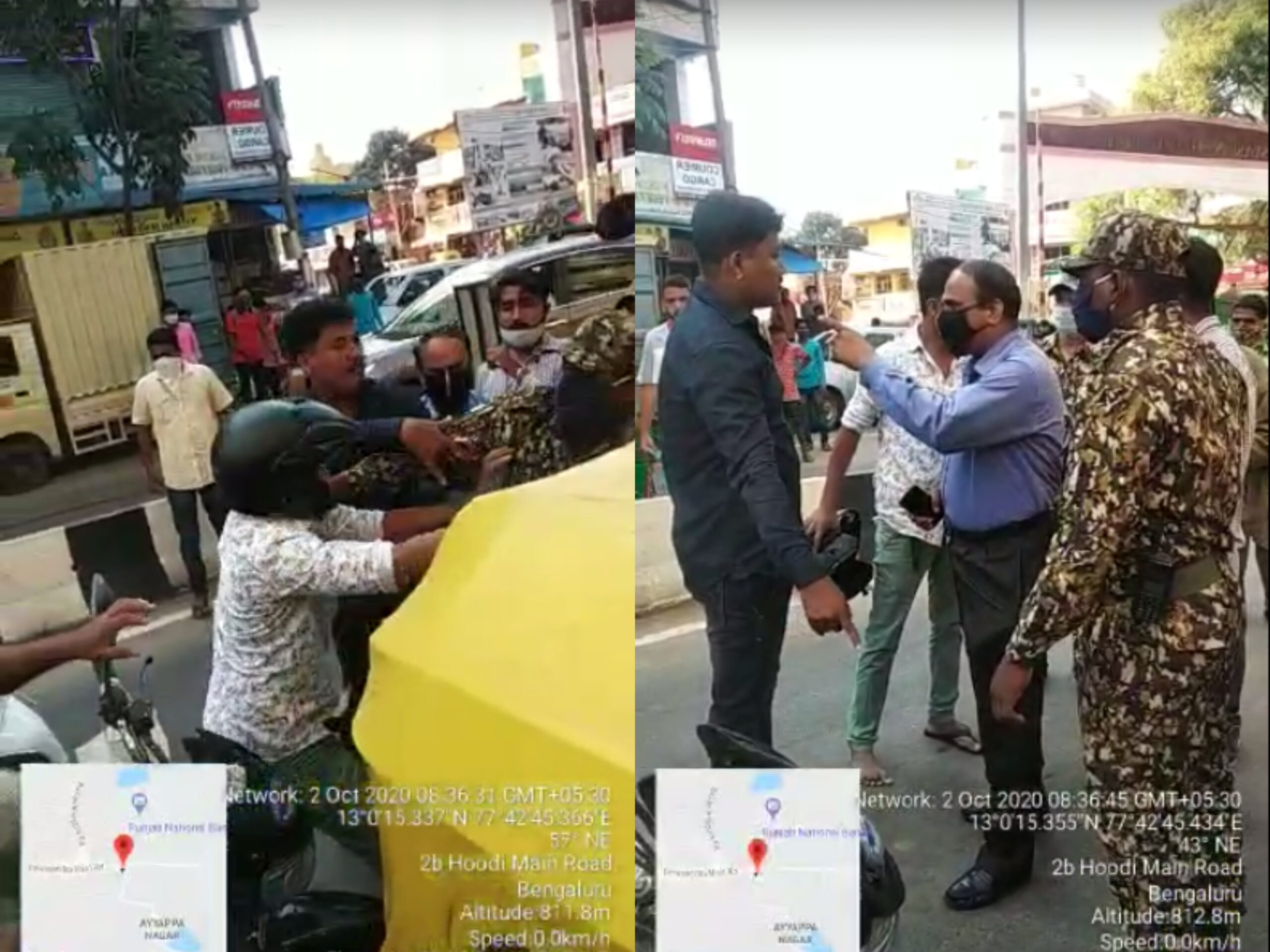 First revolt in Bengaluru against 'maskless' fine of Rs 1,000 In KR Puram, duo refuse to pay, assault BBMP marshals and are arrested Officials say govt needs to hand-hold citizens on the Covid rule before slapping such a steep penalty