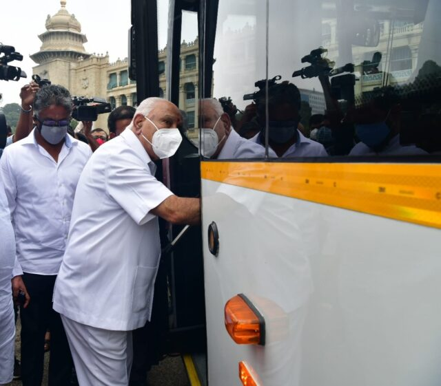 BMTC conducts trial run of electric bus in Bengaluru