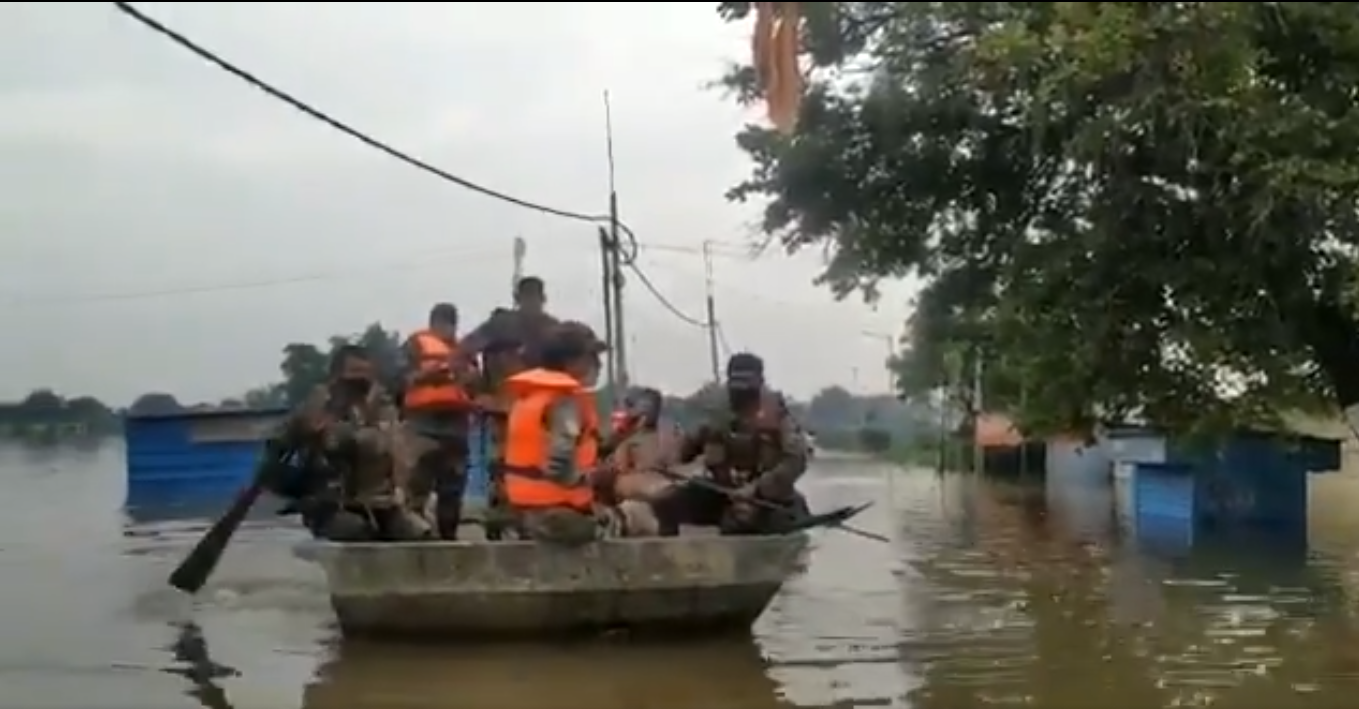 Kalaburagi: Army, NDRF teams join relief works in flood affected areas