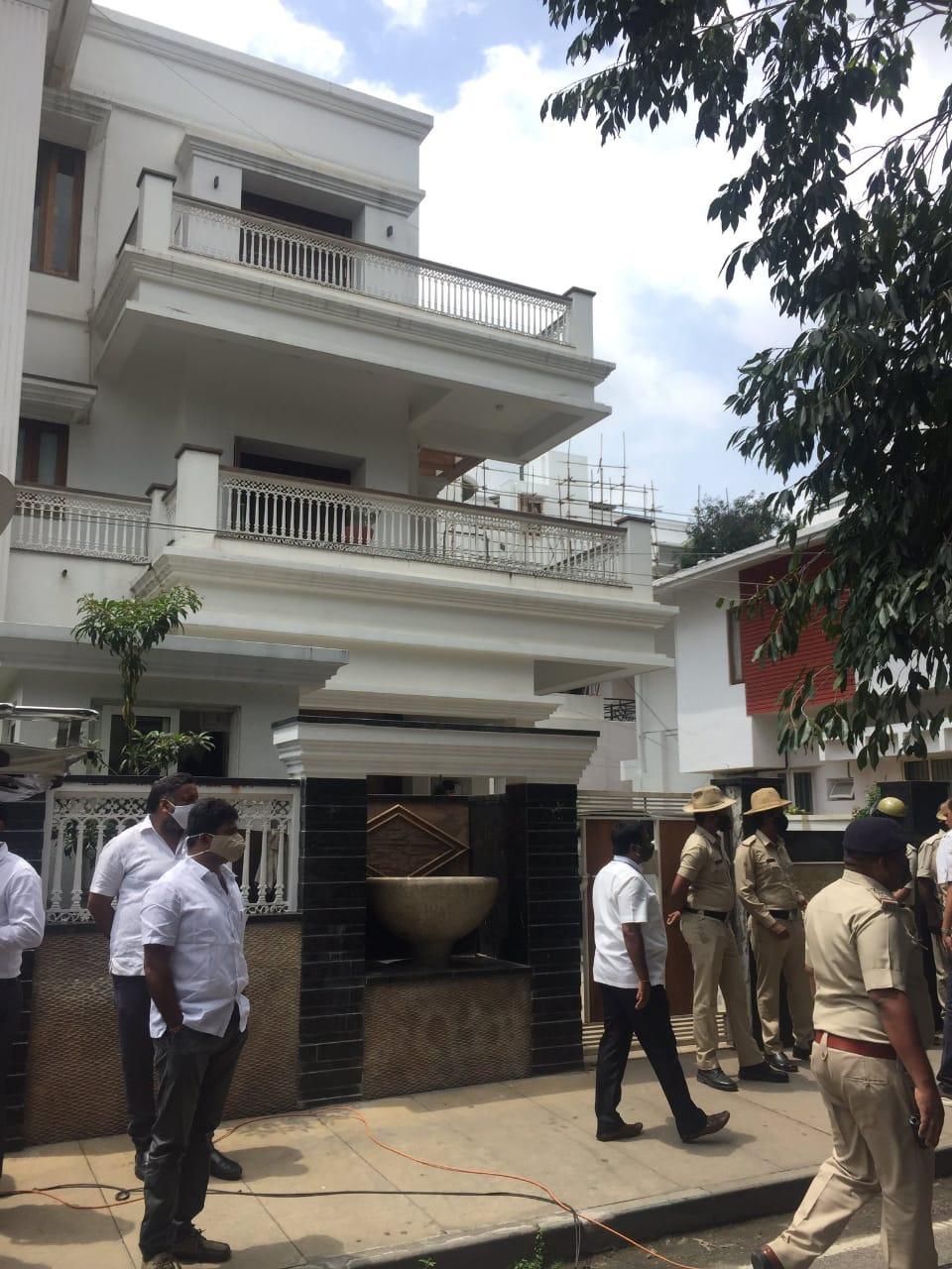 DK Shivakumar's house