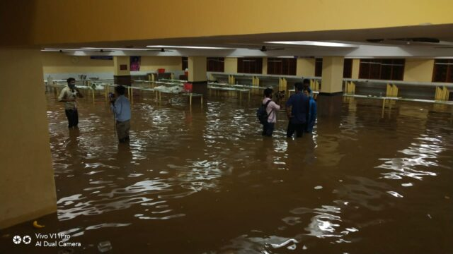 Bengaluru under ankle-deep water from 75 mm overnight rains