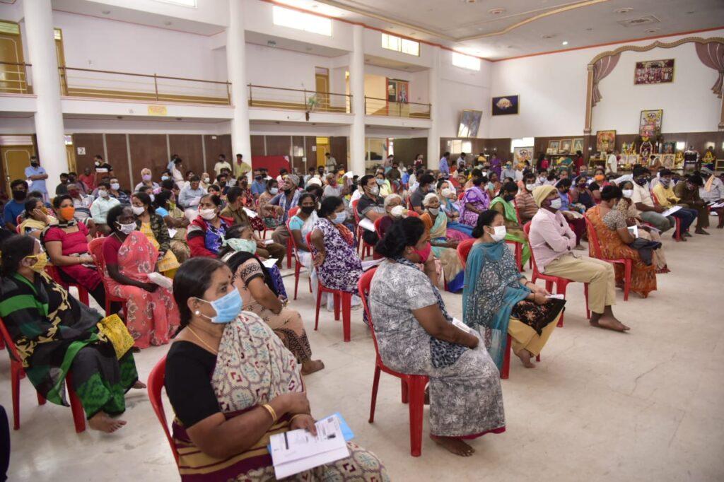 BBMP distributes Rs 86 lakh compensation in Hosakerehalli