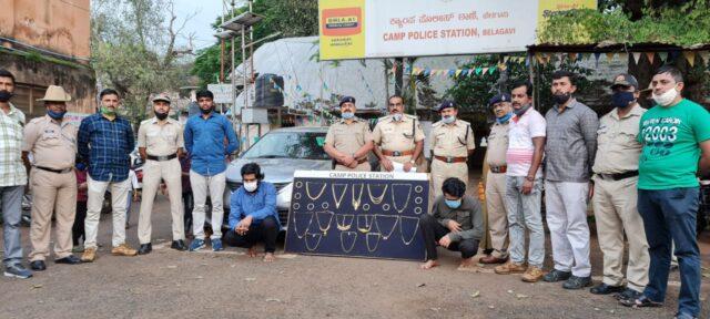 Inter-state robbers arrested in Belagavi