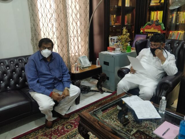 MLA petitions Cong Prez seeking action on party leaders for attack on his house