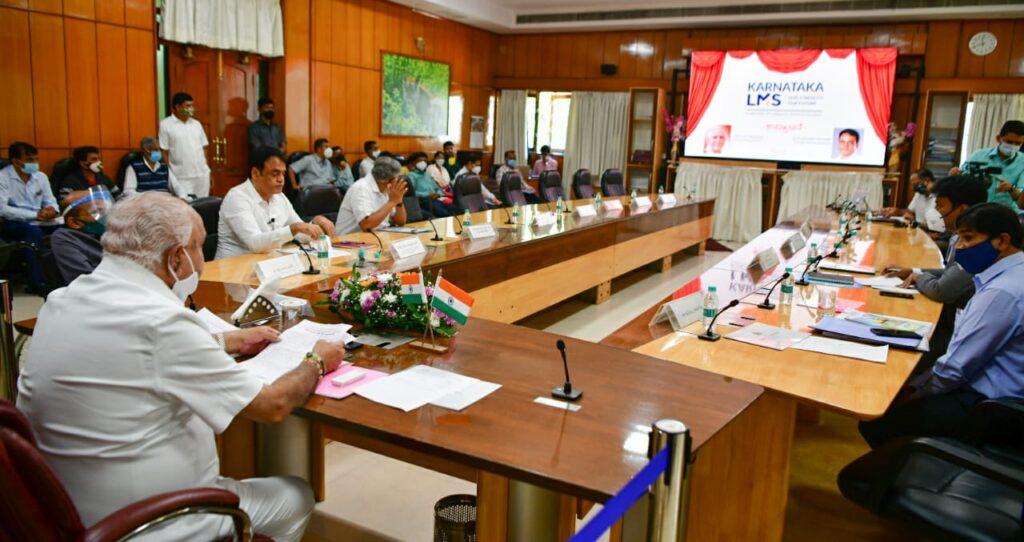 Karnataka LMS, a crucial step towards reforming Higher Education system: CM Yediyurappa