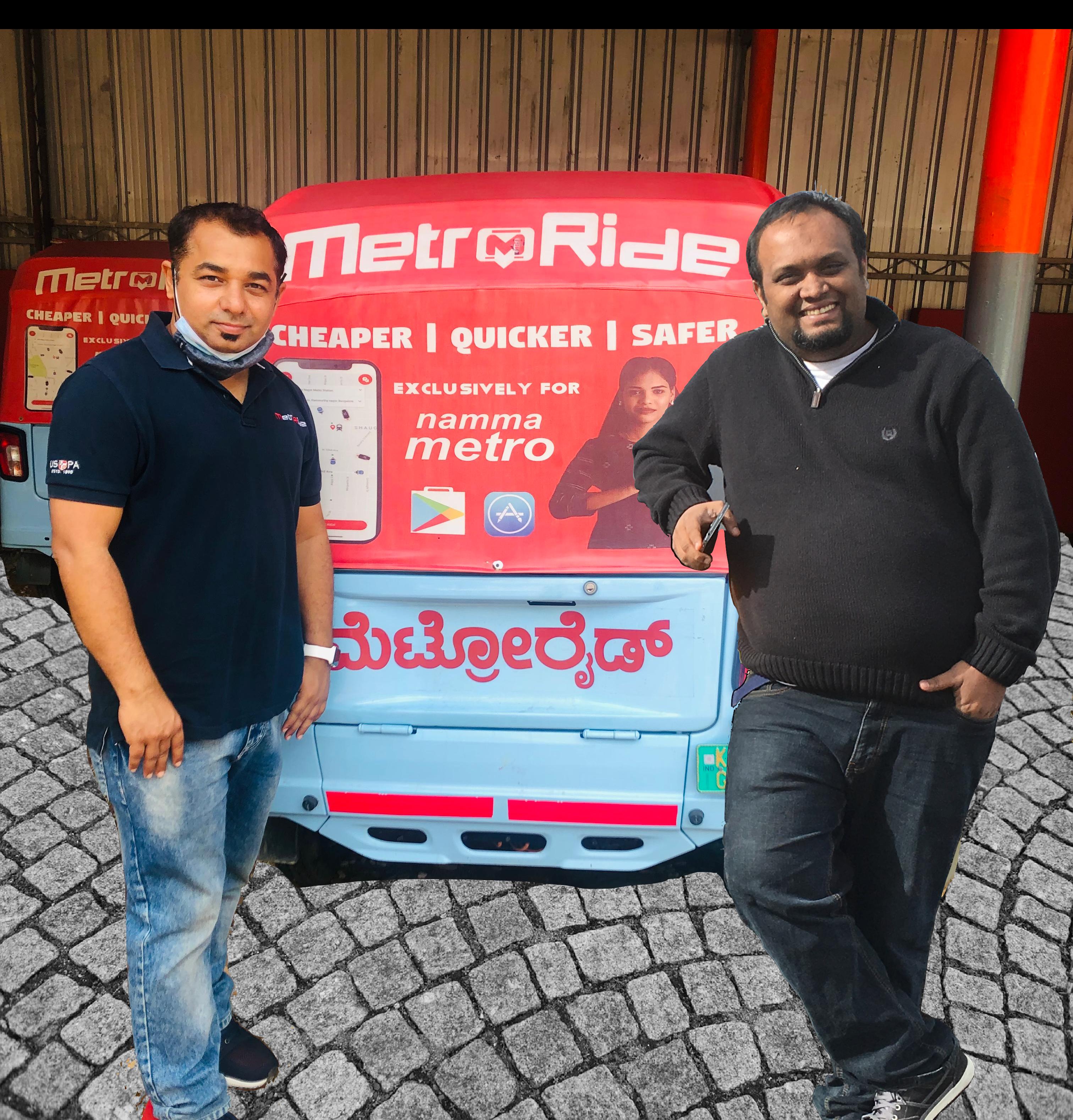 MetroRide begins operations from Indiranagar Metro Station
